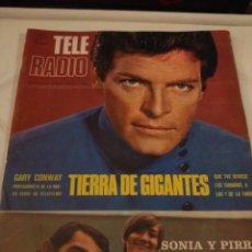 Coleccionismo de Revistas y Periódicos: REVISTA TELE RADIO N'600(TIERRA DE GIGANTES) JUNIO 1969. Lote 144501726