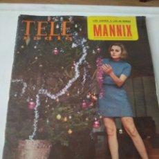 Coleccionismo de Revistas y Periódicos: REVISTA TELE RADIO N'575 (ROCÍO DÚRCAL) ENERO 1969. Lote 144625549