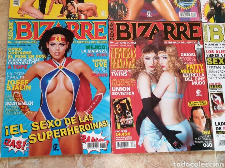 Coleccionismo de Revistas y Periódicos: LOTE 8 REVISTAS BIZARRE, años 90 - Numeros 1, 2, 3, 4, 5, 6, 7, 8 -Números sueltos a 7 euros - Foto 4 - 144626321