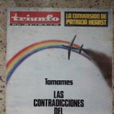 Coleccionismo de Revistas y Periódicos: TRIUNFO 604 27 ABRI 1974.LOS COMUNEROS DE CASTILLA.MAMED CASANOVA BANDOLERO GALLEGO.TEATRO EN MEXICO. Lote 144698114