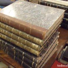 Coleccionismo de Revistas y Periódicos: LE MAGASIN PITTORESQUE - 7 TOMOS 1836 , 1838 1839 , 1843 , 1844 , 1845 , 1855 1856 , 1855 - PARIS. Lote 144723798