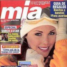 Coleccionismo de Revistas y Periódicos: REVISTA MIA N 482. Lote 144739690