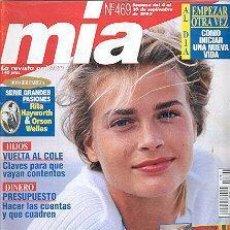 Coleccionismo de Revistas y Periódicos: REVISTA MIA N 469. Lote 144739798