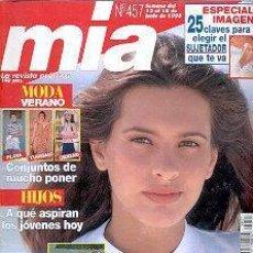 Coleccionismo de Revistas y Periódicos: REVISTA MIA N 457. Lote 144739918