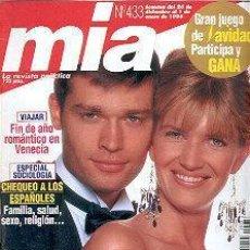 Coleccionismo de Revistas y Periódicos: REVISTA MIA N 433. Lote 144740194