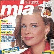 Coleccionismo de Revistas y Periódicos: REVISTA MIA N 411. Lote 144740414