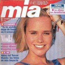 Coleccionismo de Revistas y Periódicos: REVISTA MIA N 403. Lote 144740446