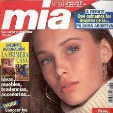 Coleccionismo de Revistas y Periódicos: REVISTA MIA N 394. Lote 144740506
