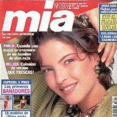 Coleccionismo de Revistas y Periódicos: REVISTA MIA N 393. Lote 144740514