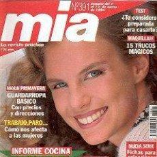 Coleccionismo de Revistas y Periódicos: REVISTA MIA N 391. Lote 144740542