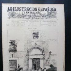 Coleccionismo de Revistas y Periódicos: LA ILUSTRACIÓN ESPAÑOLA Y AMERICANA - 15 JUL. 1893 Nº XXVI. . Lote 144749442