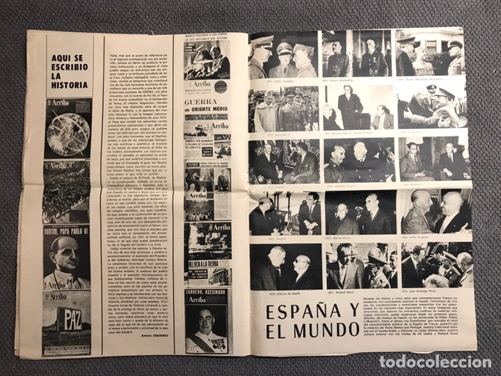 Coleccionismo de Revistas y Periódicos: ARRIBA. Diario del Movimiento. FALANGE (Viernes, 29 de Marzo de 1974) - Foto 3 - 144797609
