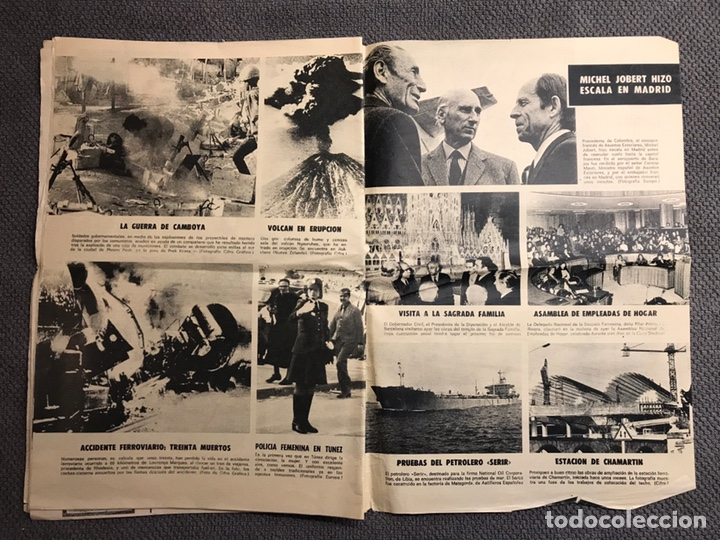 Coleccionismo de Revistas y Periódicos: ARRIBA. Diario del Movimiento. FALANGE (Viernes, 29 de Marzo de 1974) - Foto 4 - 144797609
