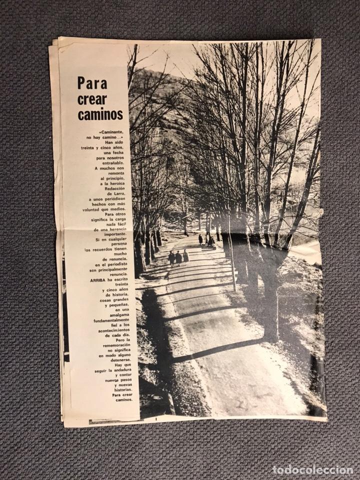 Coleccionismo de Revistas y Periódicos: ARRIBA. Diario del Movimiento. FALANGE (Viernes, 29 de Marzo de 1974) - Foto 5 - 144797609