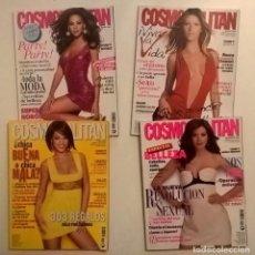 Coleccionismo de Revistas y Periódicos: LOTE DE 4 REVISTAS COSMOPOLITAN - AÑOS 2008 Y 2009. Lote 144808354