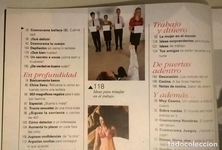 Coleccionismo de Revistas y Periódicos: LOTE DE 4 REVISTAS COSMOPOLITAN - AÑOS 2008 Y 2009 - Foto 5 - 144808354