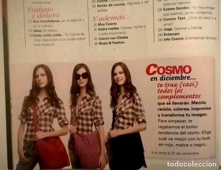 Coleccionismo de Revistas y Periódicos: LOTE DE 4 REVISTAS COSMOPOLITAN - AÑOS 2008 Y 2009 - Foto 12 - 144808354