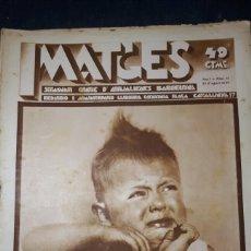 Coleccionismo de Revistas y Periódicos: IMATGES NÚMERO 12. Lote 144884558