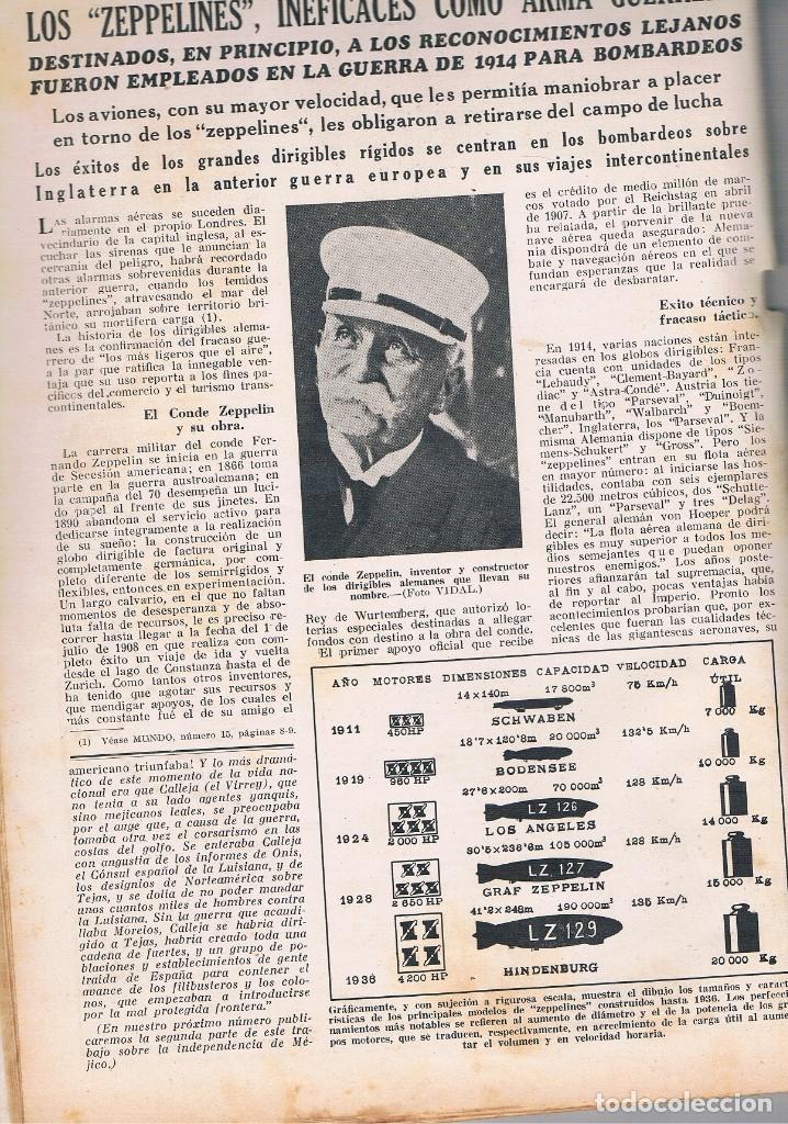 Coleccionismo de Revistas y Periódicos: REVISTA EL MUNDO NÚMERO 20 VER EXPLICACIÓN DE FOTOGRAFÍAS - Foto 5 - 144997322