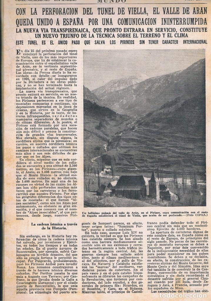 Coleccionismo de Revistas y Periódicos: REVISTA EL MUNDO NÚMERO 40 VER EXPLICACIÓN DE FOTOGRAFÍAS - Foto 3 - 144997654