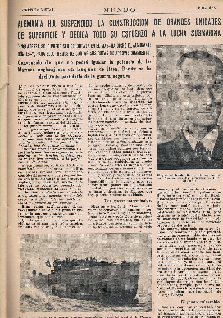 Coleccionismo de Revistas y Periódicos: REVISTA EL MUNDO NÚMERO 153 VER EXPLICACIÓN DE FOTOGRAFÍAS - Foto 4 - 145013954