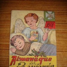 Colecionismo de Revistas e Jornais: (TC-145) REVISTA INFANTIL JUVENIL EL BENJAMIN ALMANAQUE 1948 CON RECORTABLE. Lote 145026686