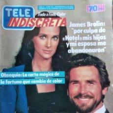 Coleccionismo de Revistas y Periódicos: TELEINDISCRETA Nº 44, COMPLETA, HOTEL, ISABEL PANTOJA, GRETA GARBO, TELE-INDISCRETA . Lote 145065666