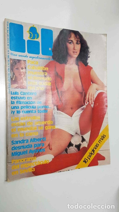 Revista Lib Año 3 Num 085 12 6 78 Sandra Sold Through