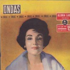 Coleccionismo de Revistas y Periódicos: REVISTA ONDAS JULIO 1959. Lote 145081798
