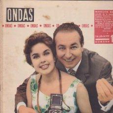 Coleccionismo de Revistas y Periódicos: REVISTA ONDAS JULIO 1959. Lote 145081946