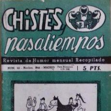Coleccionismo de Revistas y Periódicos: REVISTA DE HUMOR. Lote 145120678