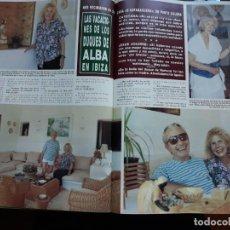 Coleccionismo de Revistas y Periódicos: LA DUQUESA DE ALBA CAYETANA EN IBIZA JESUS AGUIRRE . Lote 145132406