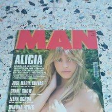 Coleccionismo de Revistas y Periódicos: REVISTA MAN Nº 83 SEPTIEMBRE 94 ALEJANDRA GUZMAN TIM BURTON ALICIA BOGO MARIAH CAREY. Lote 145194442