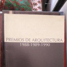 Coleccionismo de Revistas y Periódicos: PREMIOS ARQUITECTURA ANDALUCÍA 1988-1989-1990. COLEGIO OFICIAL ARQUITECTOS DE ANDALUCÍA OCCIDENTAL.. Lote 145419626