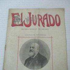 Coleccionismo de Revistas y Periódicos: EL JURADO - REVISTA JUDICIAL DE ESPAÑA - NÚMERO, PROGRAMA - AÑO 1911. Lote 145581634