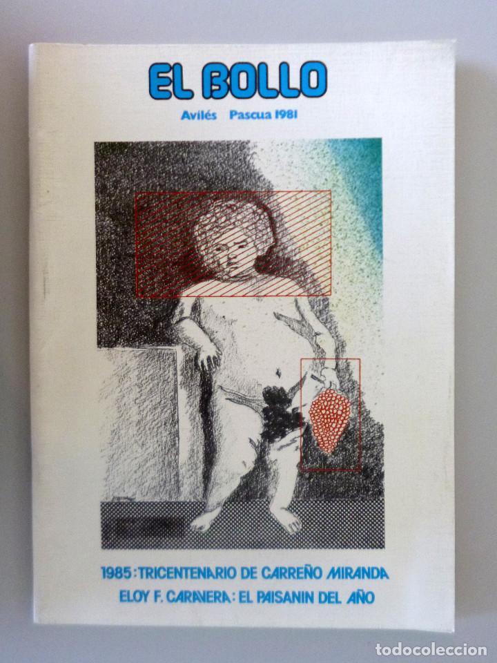 REVISTA EL BOLLO // PASCUA 1981 // AVILES // PROGRAMA DE FIESTAS // PREGÓN (Coleccionismo - Revistas y Periódicos Modernos (a partir de 1.940) - Otros)