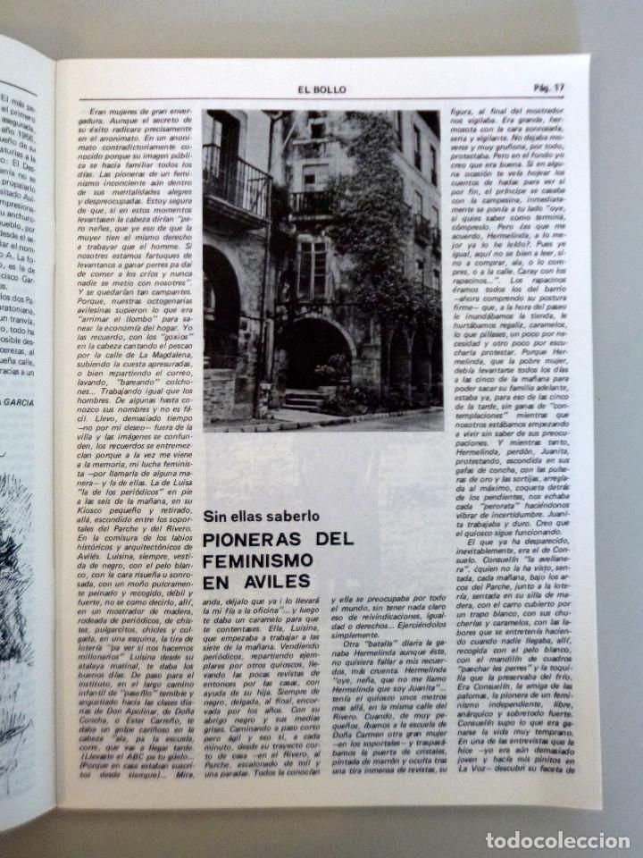 Coleccionismo de Revistas y Periódicos: REVISTA EL BOLLO // PASCUA 1981 // AVILES // PROGRAMA DE FIESTAS // PREGÓN - Foto 2 - 145632070