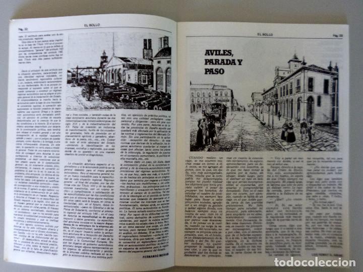 Coleccionismo de Revistas y Periódicos: REVISTA EL BOLLO // PASCUA 1981 // AVILES // PROGRAMA DE FIESTAS // PREGÓN - Foto 3 - 145632070