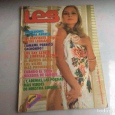 Coleccionismo de Revistas y Periódicos - LES Nº 1 REVISTA EROTICA AÑOS 70 - 145610098