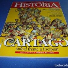 Coleccionismo de Revistas y Periódicos: LA AVENTURA DE LA HISTORIA Nº 11 CARTAGO ANIBAL FRENTE A ESCIPIÓN ( NO TIENE DVD ). Lote 145660402