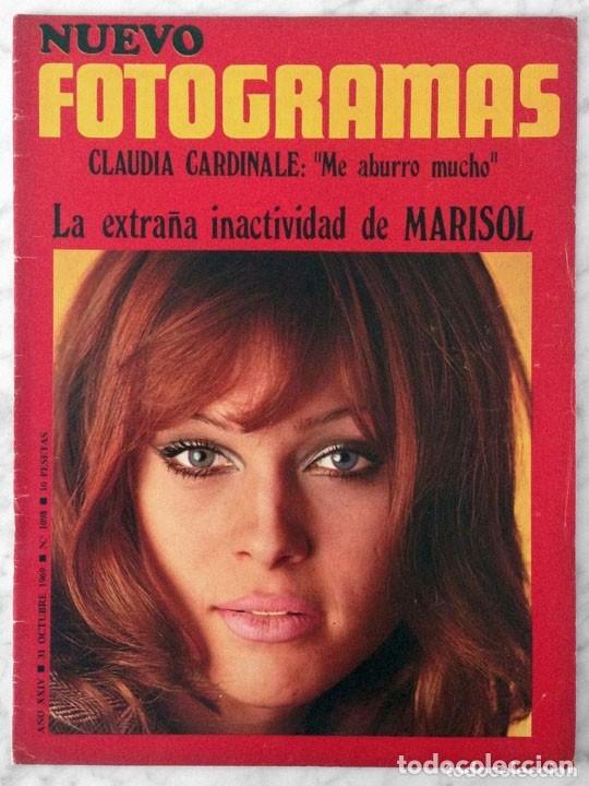 FOTOGRAMAS - Nº 1098 - 1969 - MARISOL, CLAUDIA CARDINALE, GENEVIEVE BUJOLD, MÁQUINA!, FRANK SINATRA (Coleccionismo - Revistas y Periódicos Modernos (a partir de 1.940) - Otros)