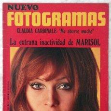 Coleccionismo de Revistas y Periódicos: FOTOGRAMAS - Nº 1098 - 1969 - MARISOL, CLAUDIA CARDINALE, GENEVIEVE BUJOLD, MÁQUINA!, FRANK SINATRA. Lote 94983651