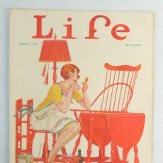 Coleccionismo de Revistas y Periódicos: REVISTA LIFE, MARZO 1925. Lote 146004914
