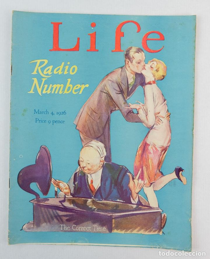 REVISTA LIFE, MARZO 1926 (Coleccionismo - Revistas y Periódicos Antiguos (hasta 1.939))