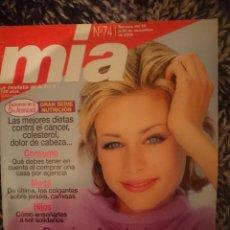 Coleccionismo de Revistas y Periódicos: MIA N 741 - DEL 20 AL 26 NOVIEMBRE 2000 . Lote 146012346