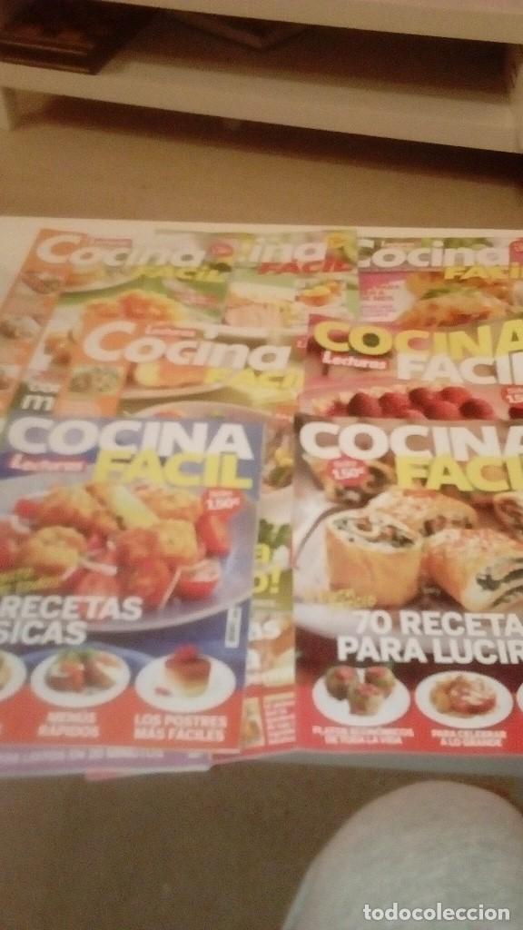 G-RIT8UJ REVISTA COCINA FACIL LOTE DE 10 REVISTAS (Coleccionismo - Revistas y Periódicos Modernos (a partir de 1.940) - Otros)