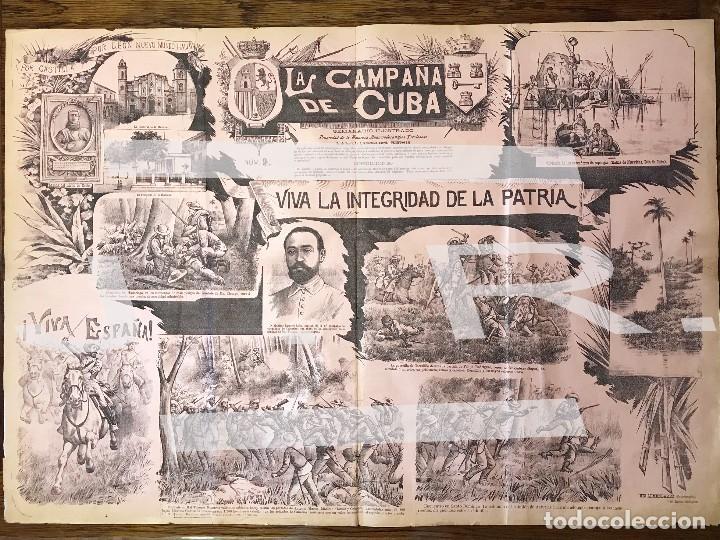 Coleccionismo de Revistas y Periódicos: Semanario La Campaña de Cuba y Actualidades. - Foto 3 - 146074642