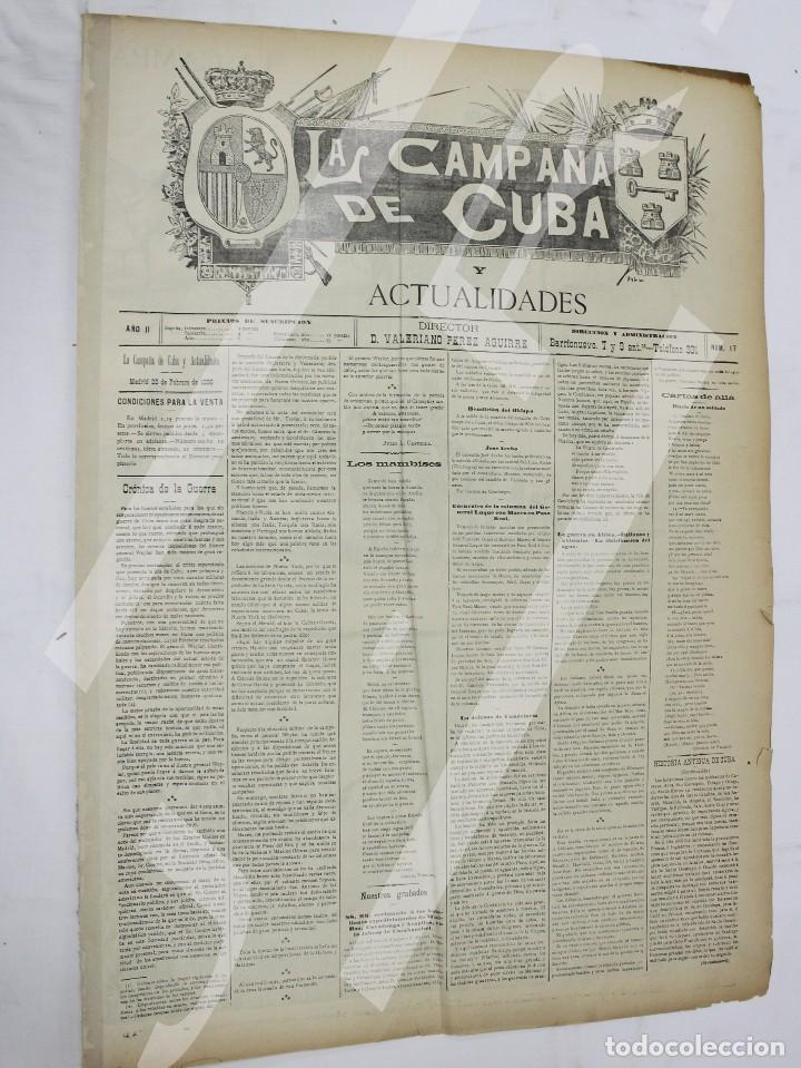 Coleccionismo de Revistas y Periódicos: Semanario La Campaña de Cuba y Actualidades. - Foto 6 - 146074642