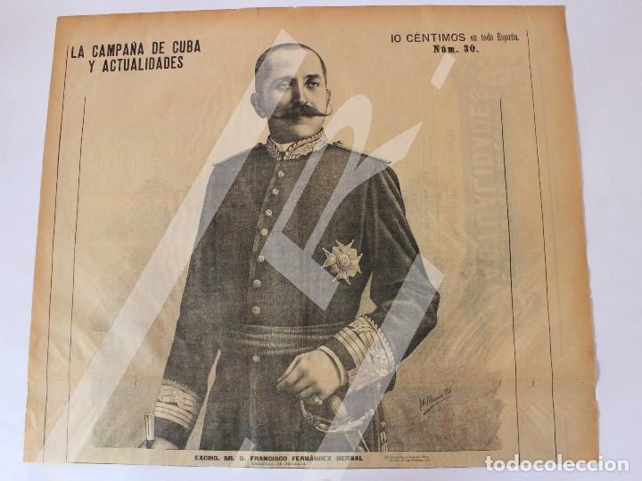Coleccionismo de Revistas y Periódicos: Semanario La Campaña de Cuba y Actualidades. - Foto 8 - 146074642