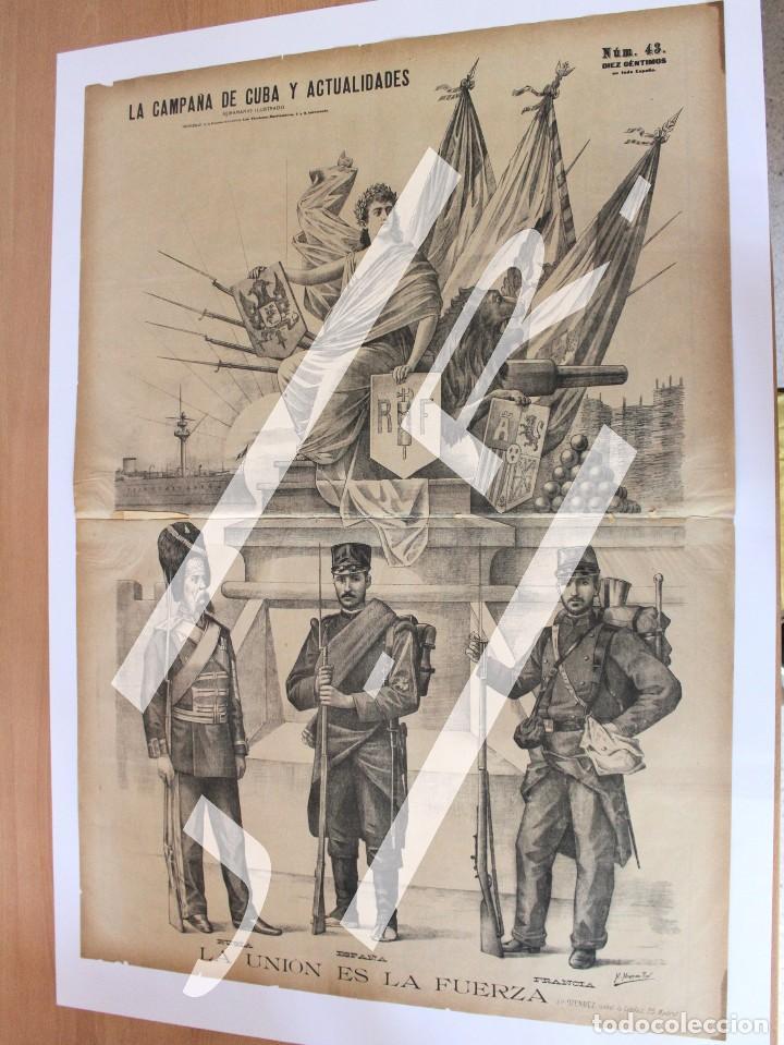 Coleccionismo de Revistas y Periódicos: Semanario La Campaña de Cuba y Actualidades. - Foto 10 - 146074642
